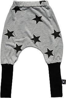 NUNUNU Girls 'nununu Star Donkey Pants in Heather Gray