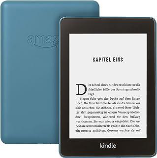 Kindle Paperwhite, wasserfest, 6 Zoll (15 cm) großes hochauflösendes Display, 8 GB – mit Werbung – Dunkelblau