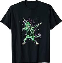 Dabbing Unicorn Skeleton Halloween Costume Dab Hip Hop X-Ray T-Shirt