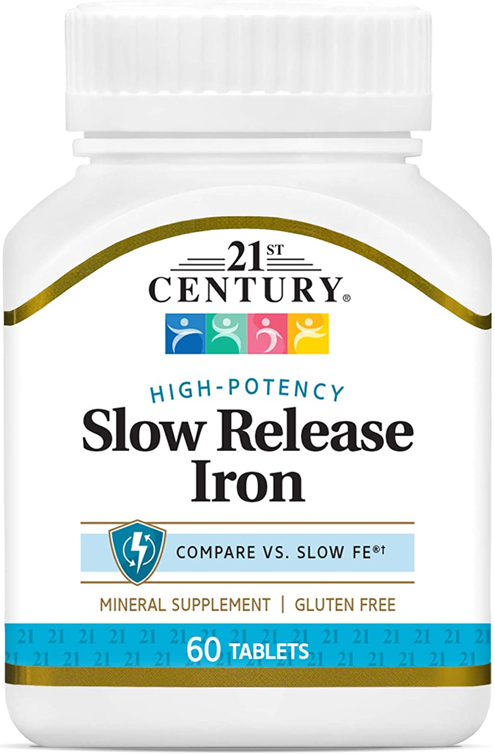 21st Century Slow Release Iron Financial sales sale Tablets of Count Max 46% OFF 60 Pack 3