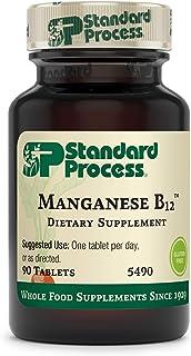 Standard Process Manganese B12 - Whole Food Hemoglobin and Antioxidant with Manganese, Organic Carrot, Maltodextrin, Coppe...