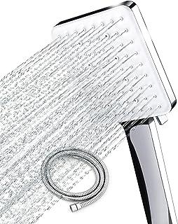 Newentor High Pressure Shower Head with handheld, 6 Spray Settings Handheld Shower Head..