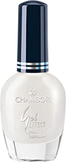 Chambor Gel Effect Nail Lacquer, White No.601, 10 ml
