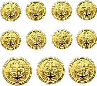 Best big gold buttons Reviews