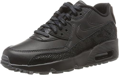 Nike Air Max 90 LTH GS, Chaussures de Gymnastique garçon, Noir ...