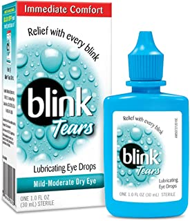 Blink Lubricating Eye Drops For Mild Moderate Dry Eye, 1 oz