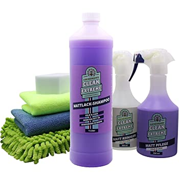 Amazon Fr Cleanextreme Kit Peinture Mate Nettoyage Entretien Maxi Nettoyer Soin Etancher De Matt Lack Feuille Mat Entretien Spray Nettoyant Shampoing Pour Voiture Equipement