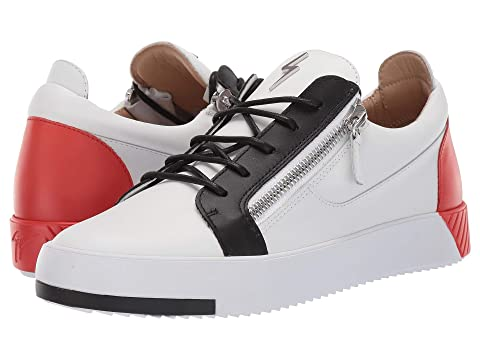 c949092cebac9 Giuseppe Zanotti Frankie Color Block Sneaker at Luxury.Zappos.com