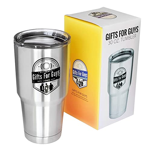 b464f8bdcb7f9 Gifts for Guys 30 oz Tumbler - Heavy Duty Stainless Steel