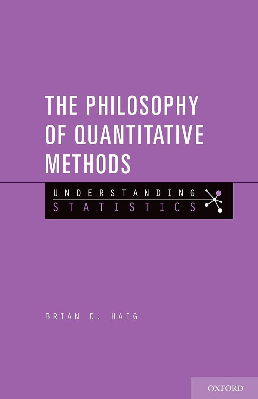 主張する別にバタフライThe Philosophy of Quantitative Methods: Understanding Statistics (English Edition)