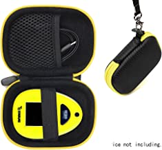 Golf Course GPS Case for Golf GPS, Specially Designed for Izzo Swami 4000+ Golf GPS, and Swami 4000, 5000, 6000 Golf GPS Rangefinder; Garmin Approach G30, G6, G7 (Black with Yellow Zip)