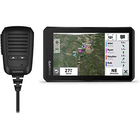 """Garmin Tread Powersport Off-Road Navigator with Group Ride Radio, Group Tracking and Voice Communication, 5.5"""" Display, 010-02406-00"""