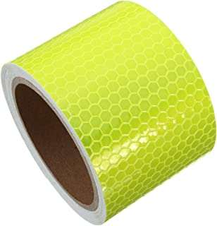 Muchkey Ruban adh/ésif r/éfl/échissant 50 mm x 3m vert