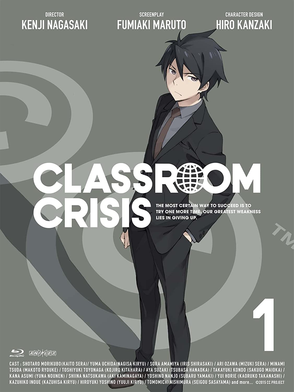 Animation - Classroom Max 87% OFF Crisis 1 BD+CD Japan BD ANZX-11551 Rapid rise
