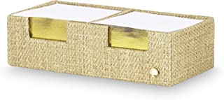 Kate Spade New York Office Supplies Desk Organizers, Grasscloth (Sticky Notes)