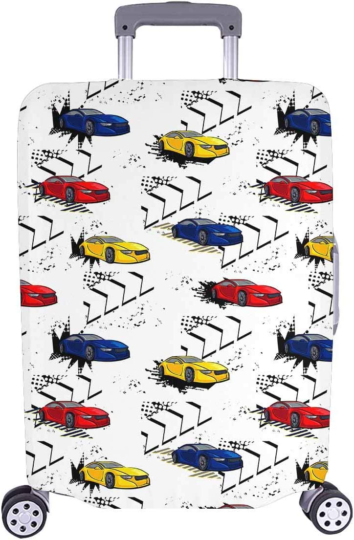 InterestPrint Finally resale start Custom Colorful Outlet sale feature Car Travel Pattern Holiday Busines