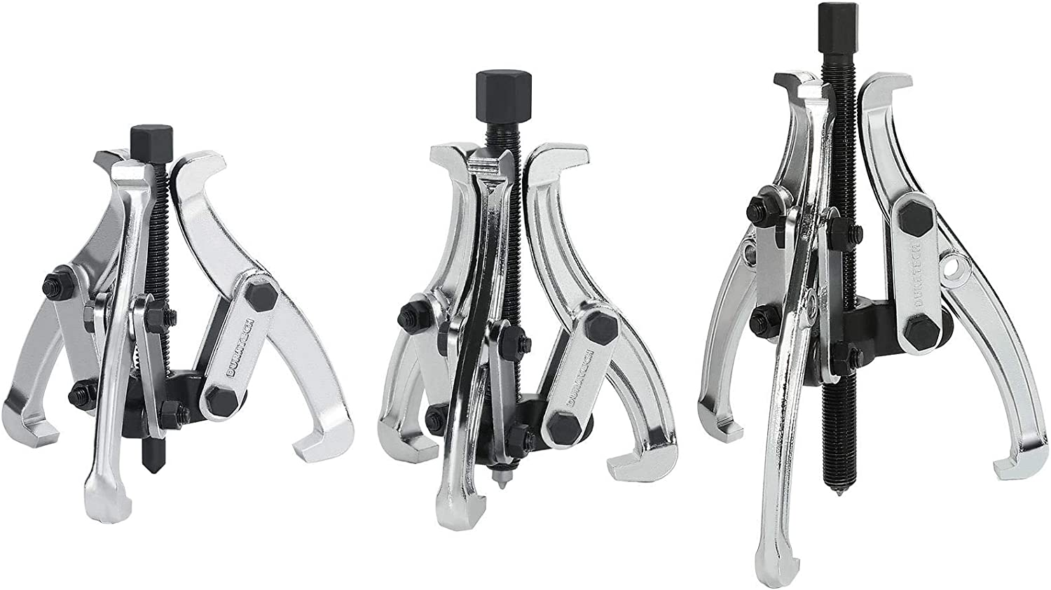 DURATECH 3-Piece Fixed price for sale 3-Jaw Gear Puller 3