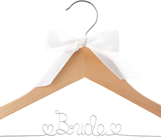 Best bridal gown hangers with name Reviews