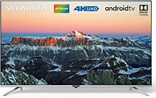 "SKYWORTH 65UB7500 ANDROID UHD 4K LED TV (65"") (Silver)"