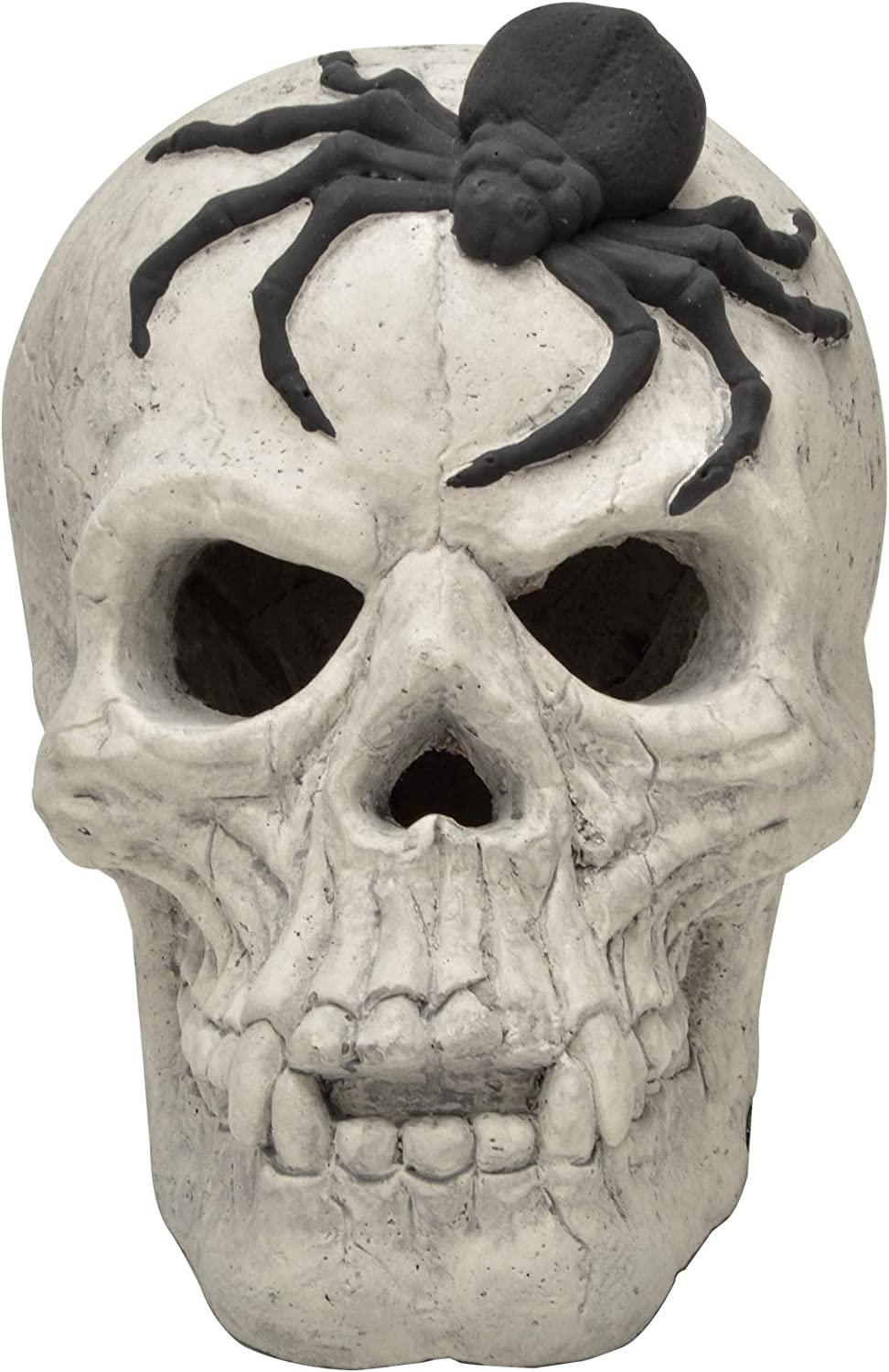 Stanbroil Popular Fire Pits Max 45% OFF Imitated Human Decor Spider Black Skull with