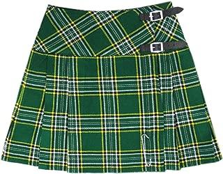 Womens 16.5 Inch Scottish Tartan Mini Kilt Skirt