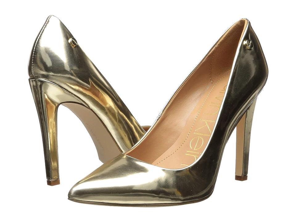 Calvin Klein Brady (Gold Metallic) Women