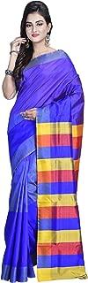 SareesofBengal Women's Handloom Bishnupuri/Katan Silk Saree