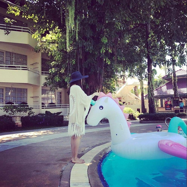 Neue Stil Süigkeiten Pferd Schwimmende Reihe Aufblasbare Spielzeuge, Farbe Pegasus Schwimmende Bett Schwimmring Liege Schwimmsitz, Pool Spielzeug -240  240  120 Cm