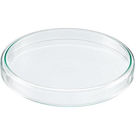 Vaorwne 10 Pi/èCes Bo?Tes de Petri en Plastique St/éRile 35 Mm X 10 Mm avec Couvercle pour Levure /à Plaque LB Couleur Transparente