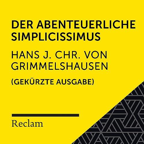 Grimmelshausen: Der abenteuerliche Simplicissimus (Reclam Hörbuch) (Gekürzte Ausgabe)