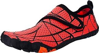 Ansbowey Chaussures Aquatiques Homme Femme Chaussures d'eau Chaussures de Plage Séchage Rapide Chaussures de Yoga Plongée ...