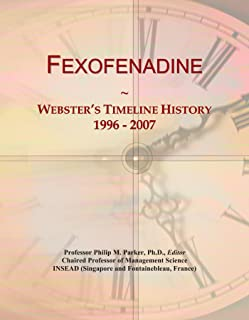 Fexofenadine: Webster's Timeline History, 1996 - 2007