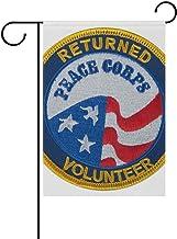 Trista Bauer Signo de la Fuerza de Paz Personalizado Bandera del jardín Bandera Larga Temporada de poliéster Porche Césped