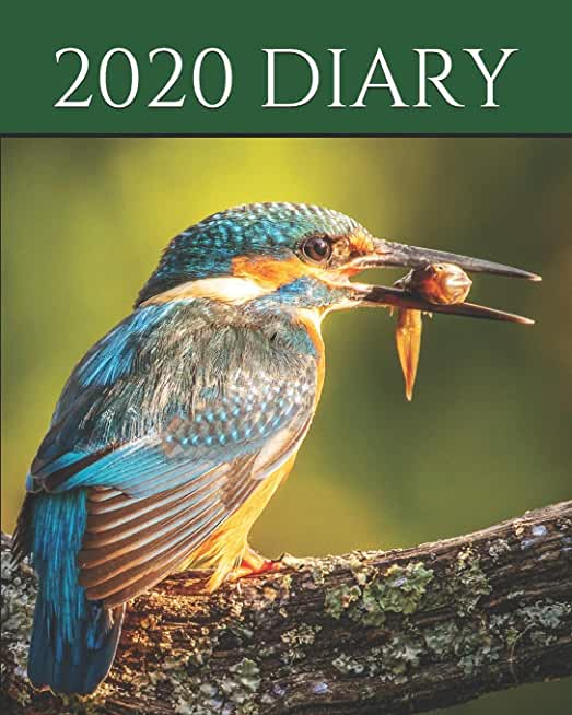 """2020 Diary: Wildlife Series Diary for Birdwatchers, Ornithologists, Twitchers, Nature lovers, Journal & Planner for 2020 - 8x10"""""""