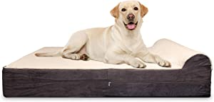 KOPEKS Orthopedic Removable Anti Slip Waterproof Dog Bed