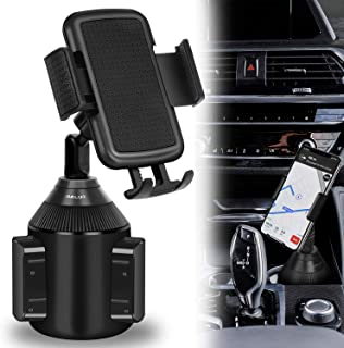Car Cup Holder Phone Mount Universal Adjustable Cradle Phone Holder for Car iPhone Xs/Max/X/XR/8/8 Plus,Samsung Note 9/ S10+/ S9/ S9+/ S8 by DALUZ