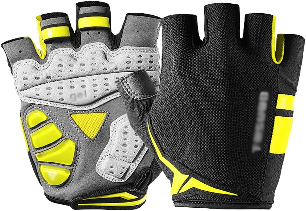 ZJHZ Bicycling Gloves Cycling Shock Sale Weekly update special price Silicone Finger Short