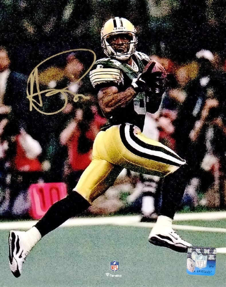 Andre Rison Signed Green Bay Packers Super Over item handling ☆ Mail order cheap Bowl TD XXXI Catch Ac