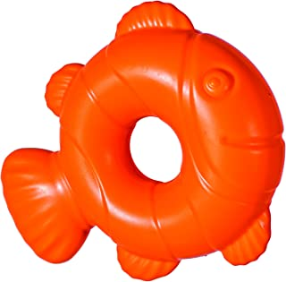 Chase 'n Chomp Durable Floating Squeaking Fish Dog Toy