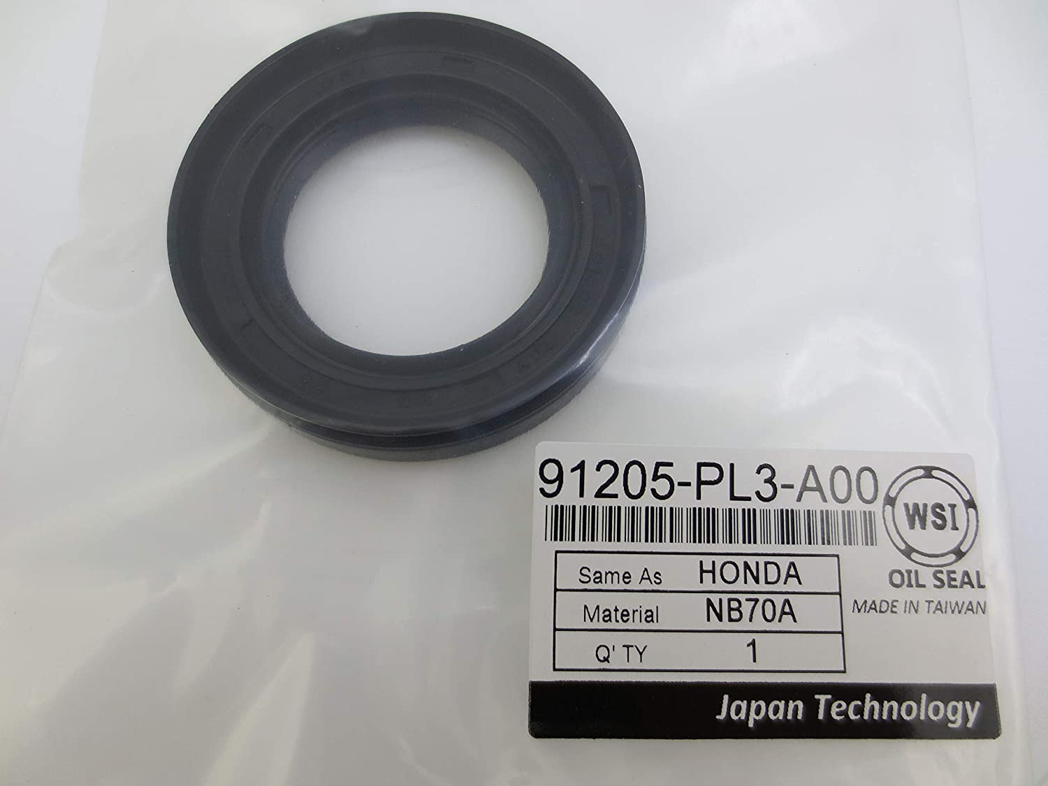 WSI 91205-PL3-A00 half Oil Lowest price challenge Seal For Shaft for Front Honda Drive