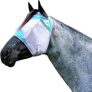 Cashel Crusader Horse Fly Mask, Standard, Arabian/Small Horse, Blue