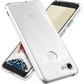 【ONES】 Google Pixel 3 ケース 高透明 Qi充電 米軍MIL規格 〔耐衝撃、軽·薄、滑り止め〕〔フィット感、画面保護、レンズ保護〕 Airシリーズ カバー クリア