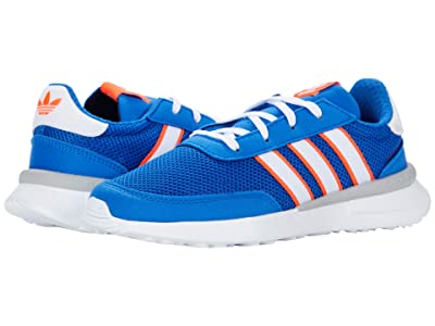 adidas Originals Kids Retroset C (Little Kid) (Blue/Footwear White/Solar Red) Boys Shoes