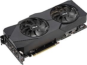 ASUS GeForce RTX 2080 SUPER Overclocked 8G GDDR6 Dual-Fan EVO Edition VR Ready HDMI DisplayPort 1.4 Graphics Card (DUAL-RT...