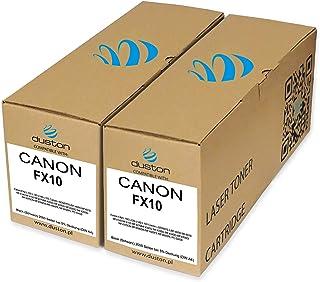 2X FX10, 0263B002 czarny toner Duston kompatybilny z Canon FAX L100 L120 L140 L160 LBP-4690 MF4010 MF4140 MF4150 MF4270MF4...