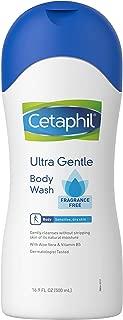 Cetaphil Ultra Gentle Fragrance Free Body Wash, 500ml