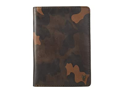 Frye Austin Passport Wallet (Camo) Handbags