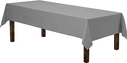 Best cheap grey tablecloths Reviews