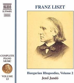 Liszt Complete Piano Music, Vol. 13: Hungarian Rhapsodies, Vol. 2