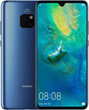 Huawei Mate 20 Smartphone, 128 GB 6.53-Inch 2K FullView Android 9.0 SIM-Free Smartphone with New Leica Triple AI Camera and Ultra Wide Angle Lens, Blue